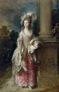 Thomas Gainsborough - el honorable la señora graham ( 1757–1792 )
