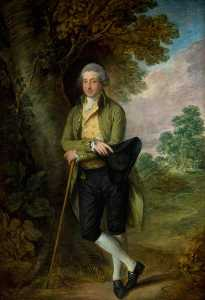 Thomas Gainsborough - Arturo Chichester ( 1739–1799 ) , 1st Marqués de donegall