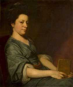 George Romney - señorita rackett thomas  do  1734–1800
