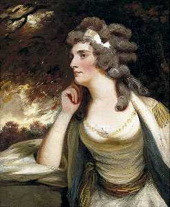 George Romney - lady elizabeth webster