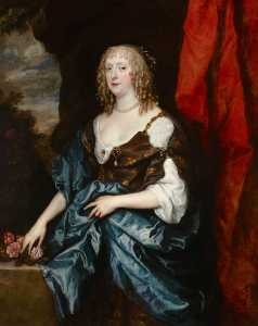 Anthony Van Dyck - Catalina Bruce ( re . 1649 ) , Señorita Guillermo Murray