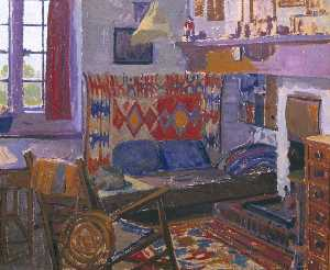 William Whitehead Ratcliffe - El Artist's Habitación , Letchworth
