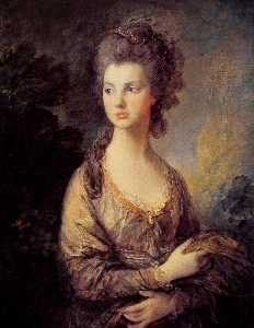 Thomas Gainsborough - La señora Graham