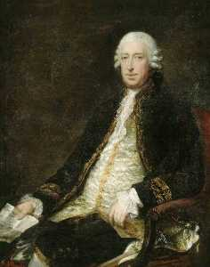 Thomas Gainsborough - lord george sackville , lord sackville
