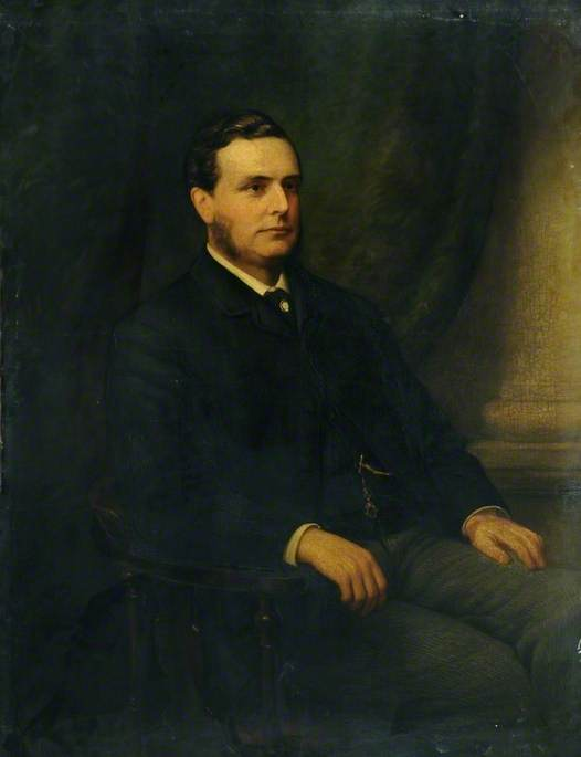 Arturo Thomas , El capital Iglesia Diputado de sheffield, 1885 de Richard Smith | Copia De La Pintura | WahooArt.com