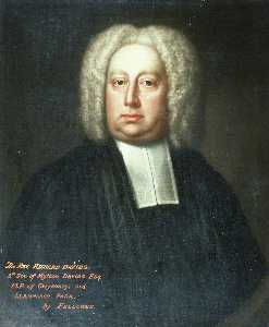 James Fellowes - el reverendo Ricardo Davies ( 1637–1746 ) , 5th Hijo de mytton davies , mp de gwysaney asícomo Llannerch Parque