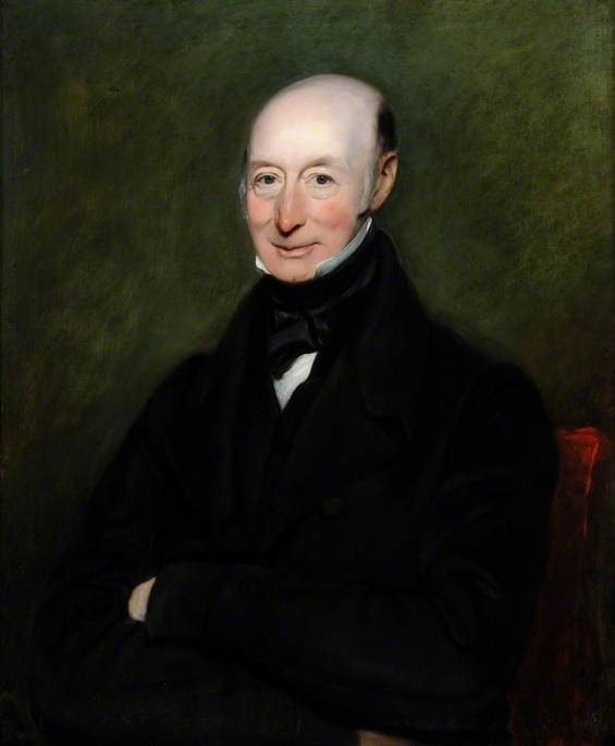 samuel clark ( 1771–1845 ) , Don de dumfries Casa, óleo sobre lienzo de William Moore I