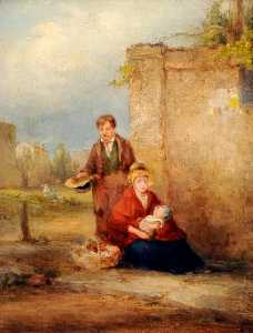 Francis Williams Topham - el Mendicantes