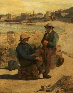 John Herbert Evelyn Partington - sales viejas , Whitby , yorkshire del norte